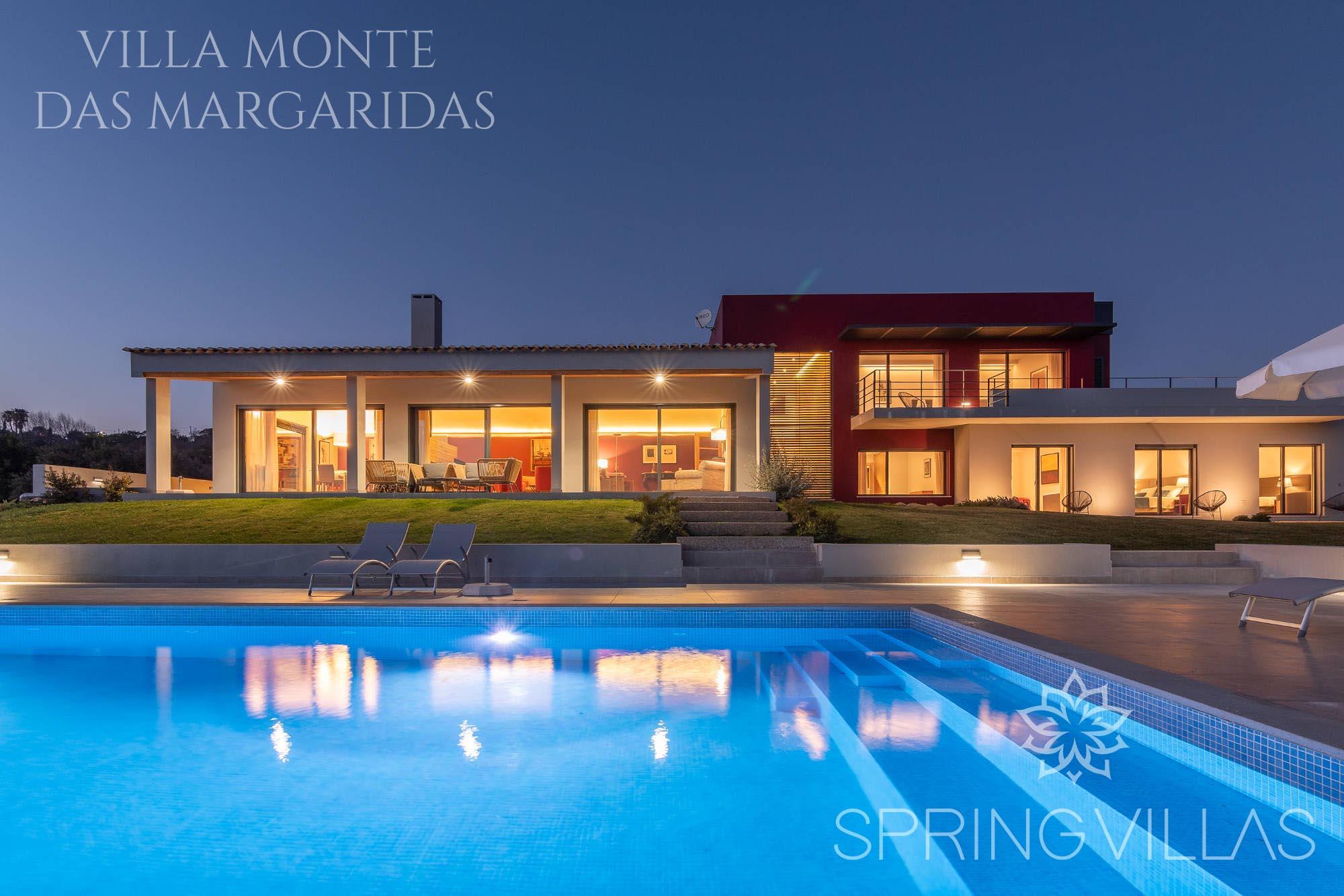 Private Villas In Portugal villa monte das margaridas - 5 bedrooms, sleeps 12 in